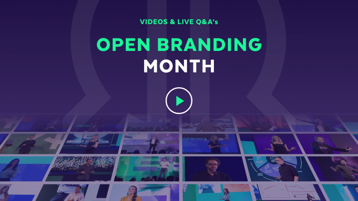 Open Branding Month – Press release